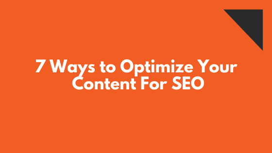 optimize content for seo