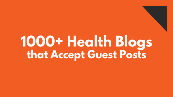 write for us health blogs